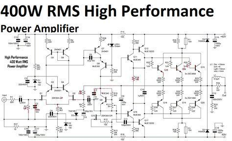 5 1 Surround Sound Amplifier Circuit Diagram New High Performance
