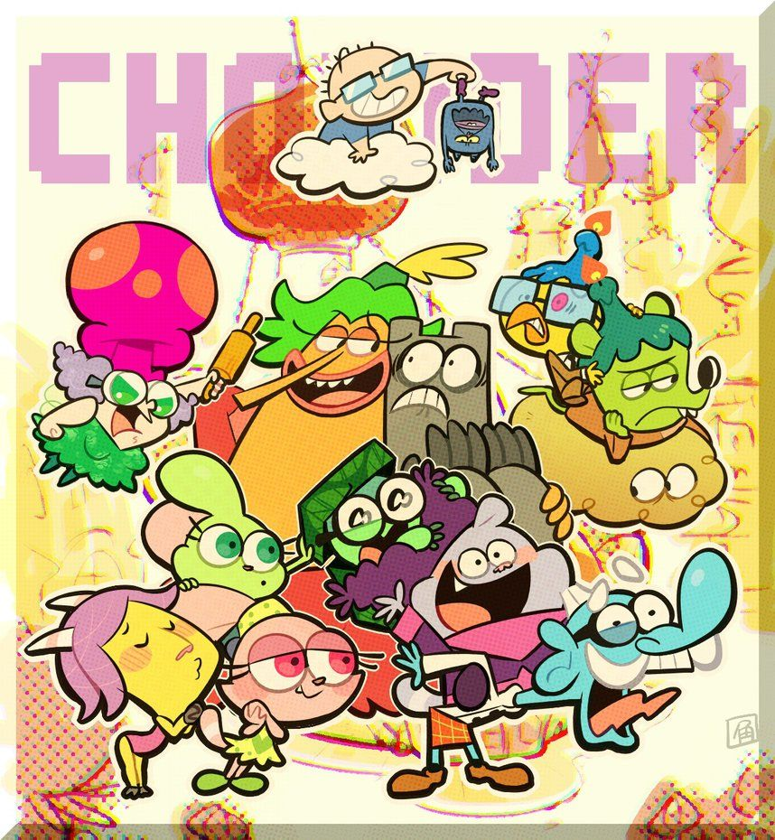 CHOWDER by hakurinn0215.deviantart.com on @DeviantArt #chowdercartoon