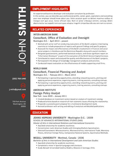 Find the Red Office Resume Template on wwwcvfolio Office