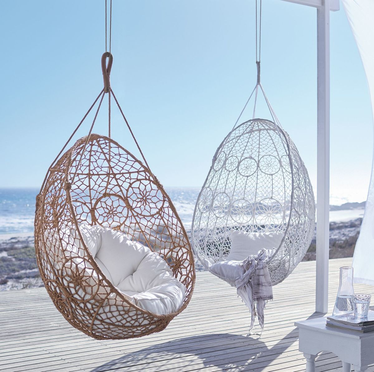 Hanging Chair, Boho, Hängesessel, Outdoorgeeignet, Metall/Polyproylen |  Sitzmöbel | Outdoor