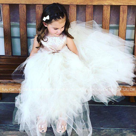 856bb2e35e2 Champagne Sequin Tutu Dress Sleeveless Tutu Dress Champagne