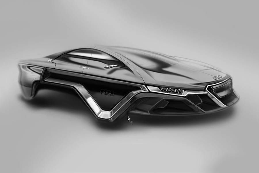 Electro Magnetic Audi Concept Car Without Wheels Wheels Cars