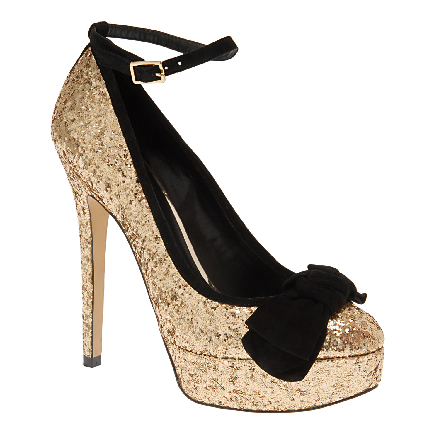 Locamoda Sparkly Sequins Heels Bling Shoes Fairy Shoes