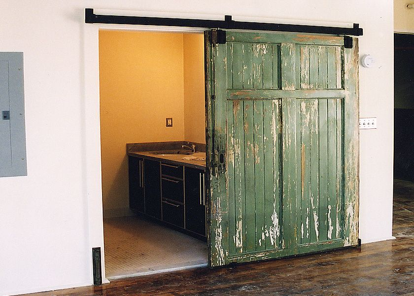 Recycled Barn Doors Btwn Dr Office Yes Color Yes Distressed Less The Termite Damage Th Hanging Barn Doors Interior Barn Doors Rustic Interior Barn Doors