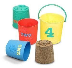 Seaside Sidekicks Nesting Buckets - Melissa and Doug
