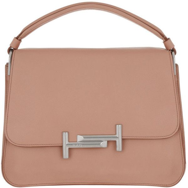 Tod's Shoulder Bag - Amu Messenger Piccola Leather Peach - in rose -... (£1,199) ❤ liked on Polyvore featuring bags, handbags, shoulder bags, rose, handbags shoulder bags, man messenger bag, shoulder handbags, purse shoulder bag and man leather shoulder bag