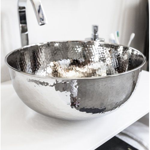 Belfry Bathroom Garett 390mm Countertop Basin Countertop Basin Modern Pedestal Sink Countertops