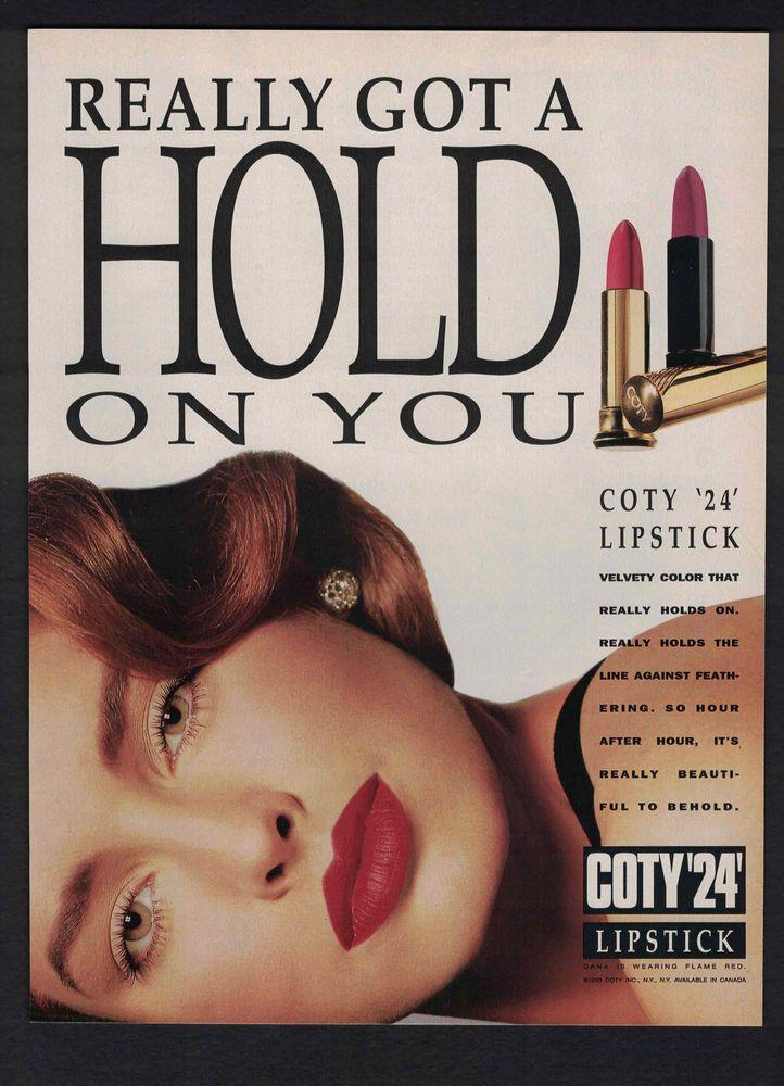 1985 Maybelline Shine Free Cosmetics Vintage PRINT