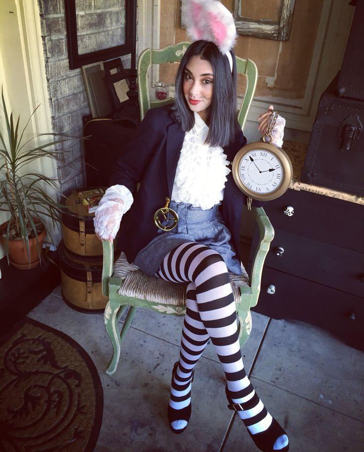 Alice Im Wunderland Hase Kostum Selber Machen Faschingskostum