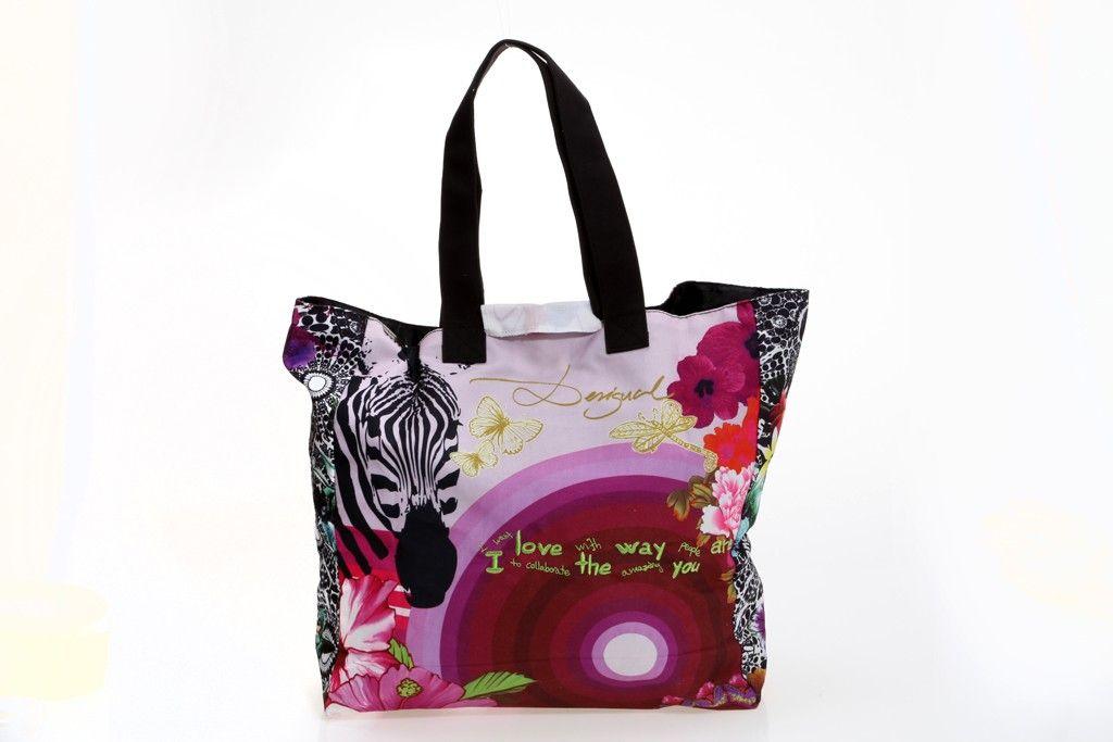 Shopping Ampli 41X5167 Desigual  (pvp. 24,00€)  En http://ow.ly/wfwJk