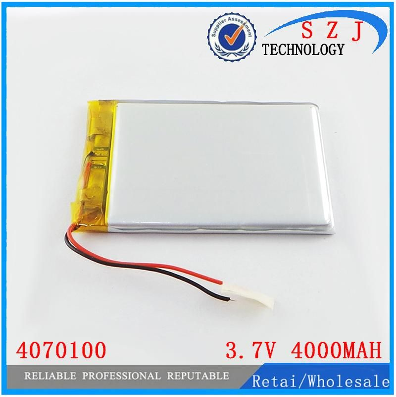 [Visit to Buy] 3.7V 3500MAH 4070100 Lithium polymer Battery with protection board For MID 7inch Tablet PC Free Shipping #Advertisement