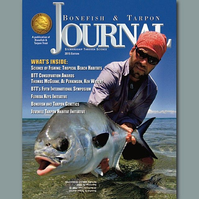 The 2015 Bonefish and Tarpon Journal is out now! If you are a member, you should be receiving your copy in the mail soon. If you are not a member, be sure to pick one up at your local fly shop or tackle dealer. #btt #conservation #bonefish #tarpon #permit #fishing