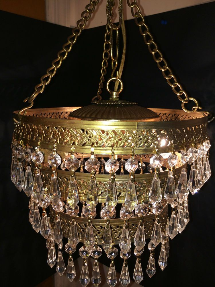 crystal chandelier en shabby product antique home