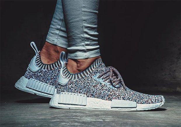 New Arrival Shoes Nmd R1 Primeknit Colour Static Adidas