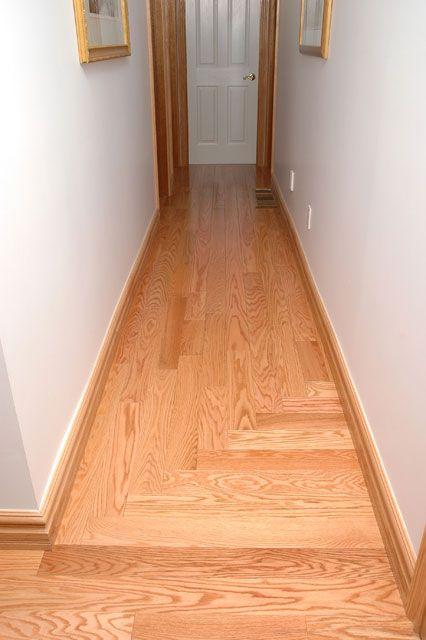 Natural Red Oak Direction Change Red Oak Wood Floors Flooring