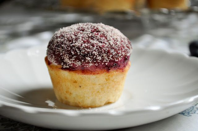 blueberry donut muffins