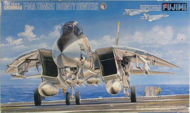 FUJ28003 1:72 Fujimi Grumman F-14A Tomcat Bounty Hunters