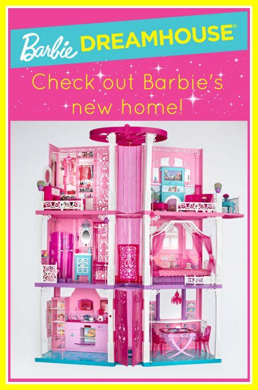 New Barbie Dreamhouse Review Barbie Dream House Barbie Doll House Barbie Dream