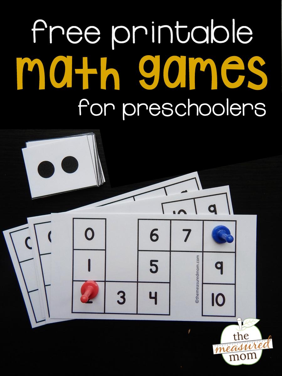 Free count to 10 games for preschoolers Preschool games