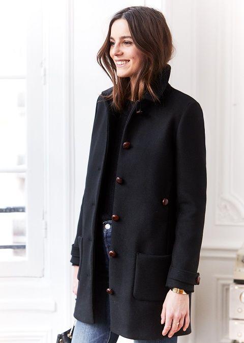 DIY    (Sézane) Manteau similaire réalisable soi même à partir du patron de 62f23f95160