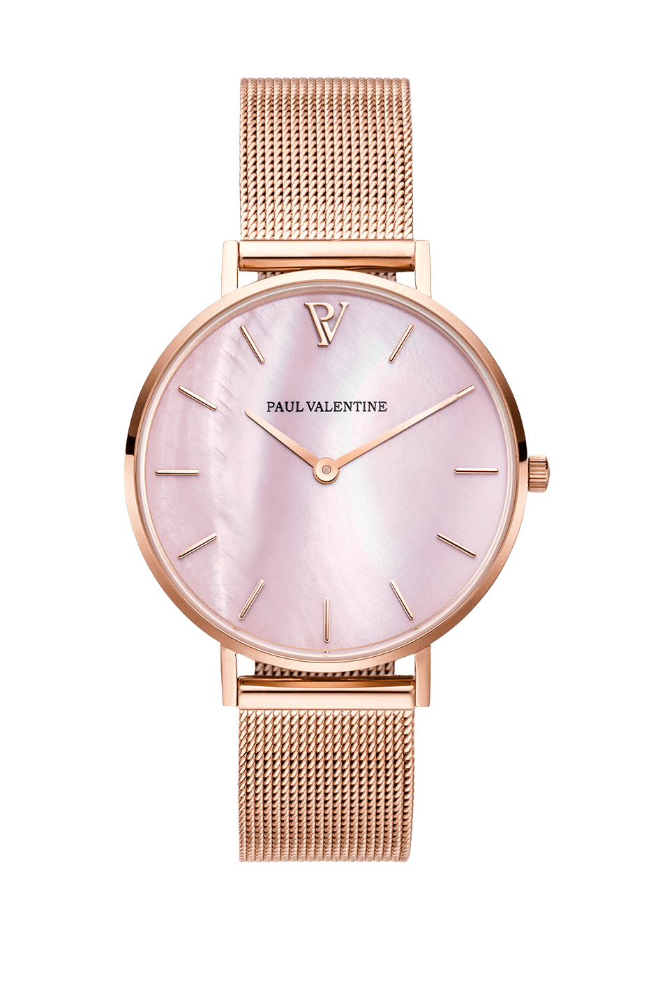 Description New Rose Gold Pink Seashell Mesh 32 Mm This