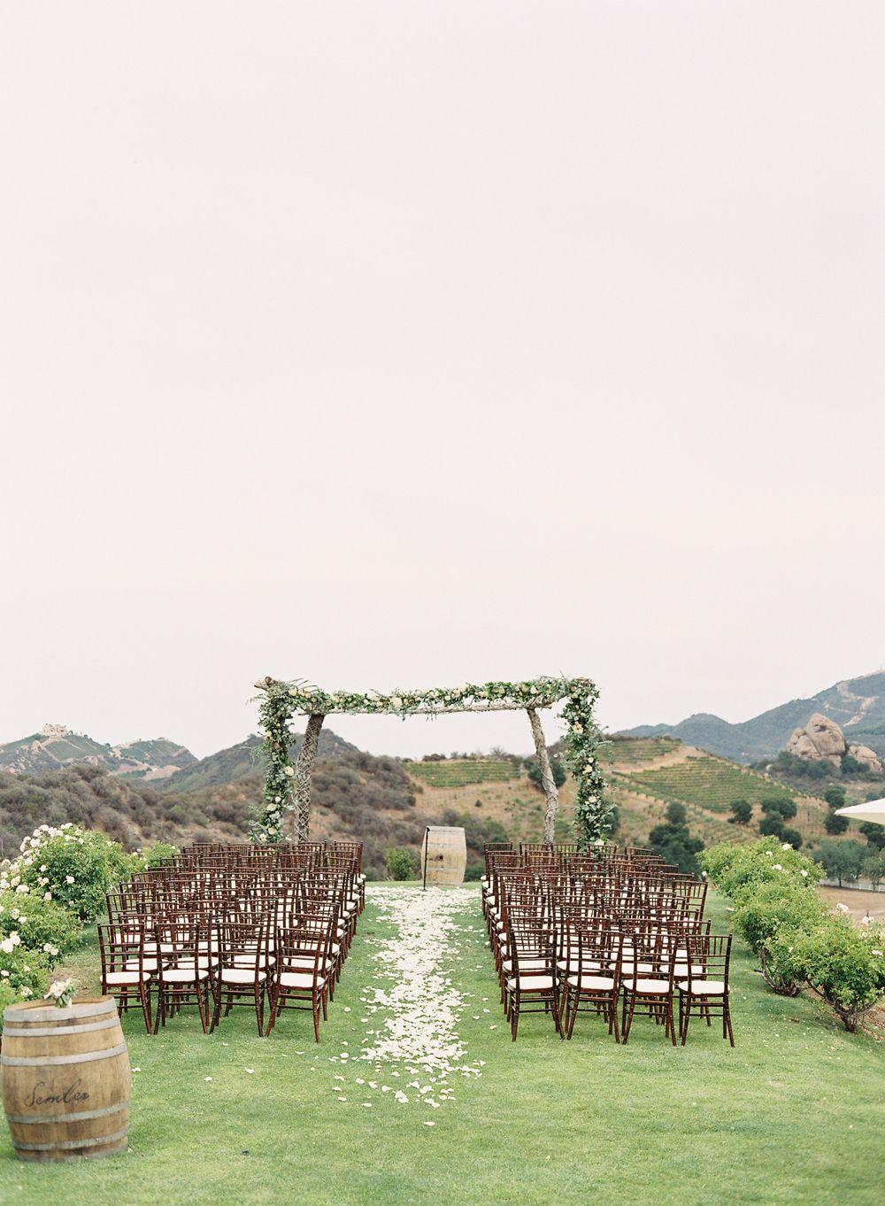 Photography : Caroline Tran Read More on SMP: http://www.stylemepretty.com/2015/04/13/pastel-malibu-ranch-wedding/