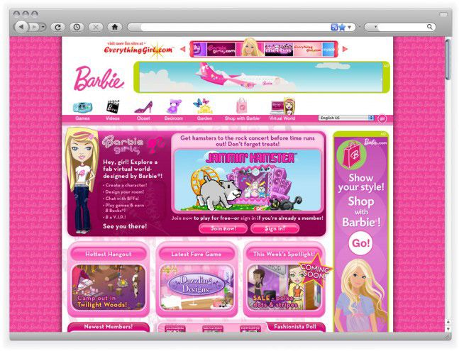 Check Out This Behance Project Barbie Girls Https Www Behance Net Gallery 43101639 Barbie Girl Childhood Memories 2000 Childhood Memories Childhood Games