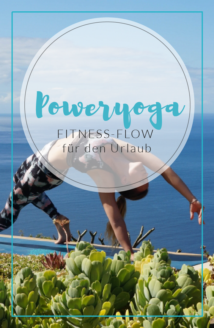 Dieser abwechslungsreiche Poweryoga-Flow ist perfekt für deinen Yoga Urlaub oder als Fitnessprogramm...