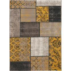 Photo of benuta Teppich Antique Gelb 200×290 cm – Vintage Teppich im Used-Look benuta