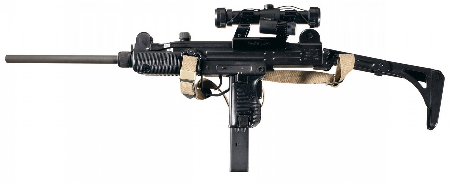 For sale trade imi uzi carbine made in israel 9mm - Imi Uzi Model B Semi Automatic Carbine With Sling Red Dot Sight