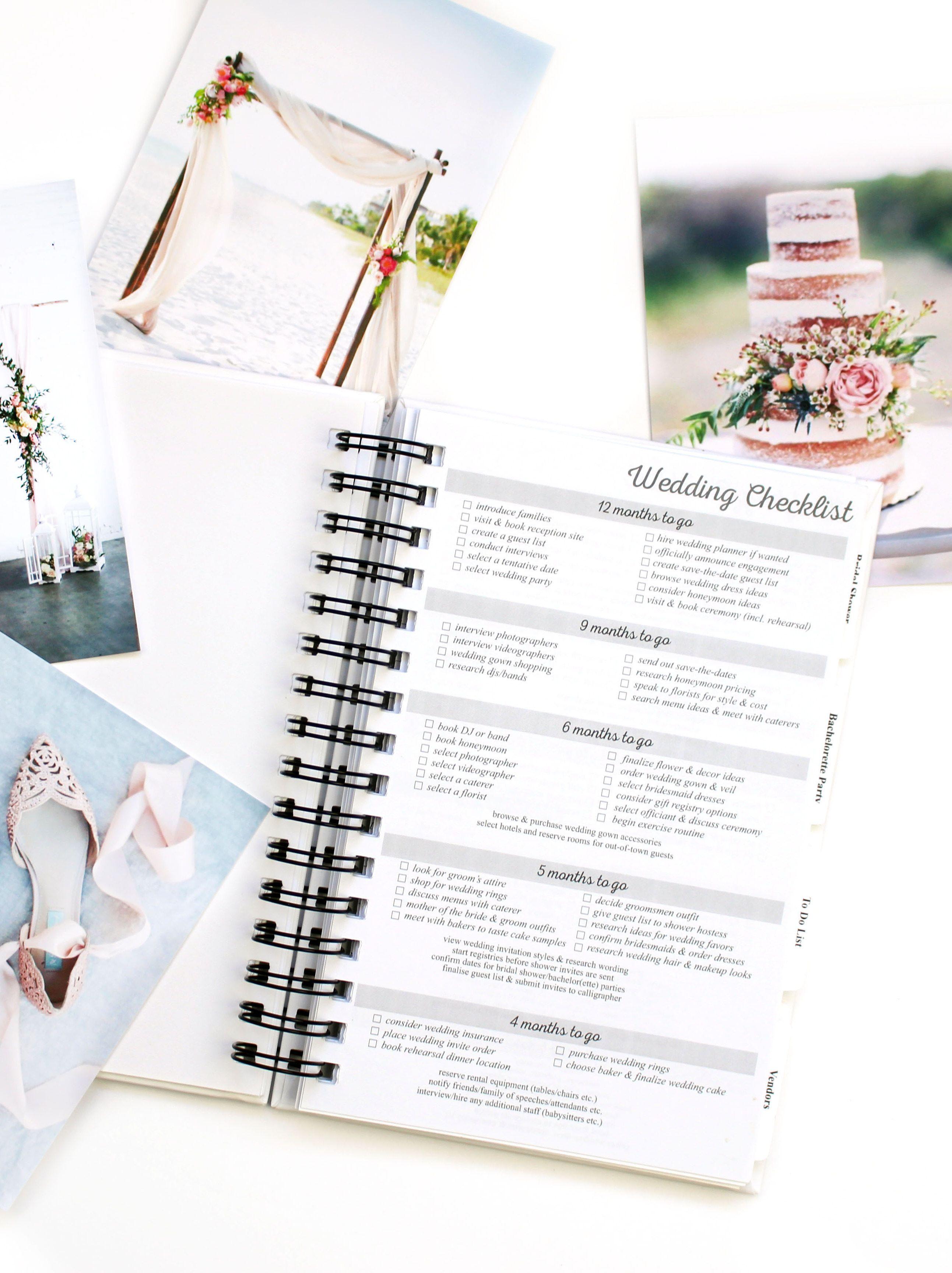Wedding Checklist Detailed Wedding Checklist Month by Month