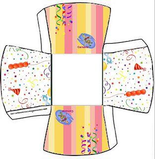 Carnaval - Kit Completo com molduras para convites, rótulos para guloseimas, lembrancinhas e imagens!