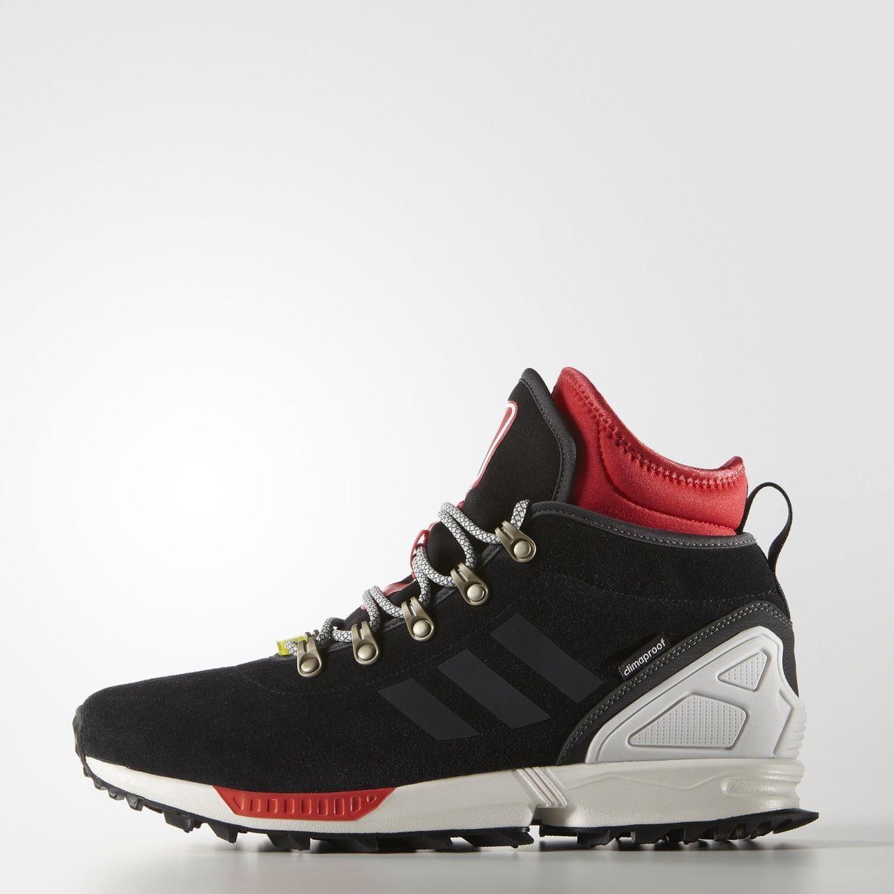 Adidas Zx Flux Winter Core Black Adidas Zx Flux Adidas Sneakers Sneakers