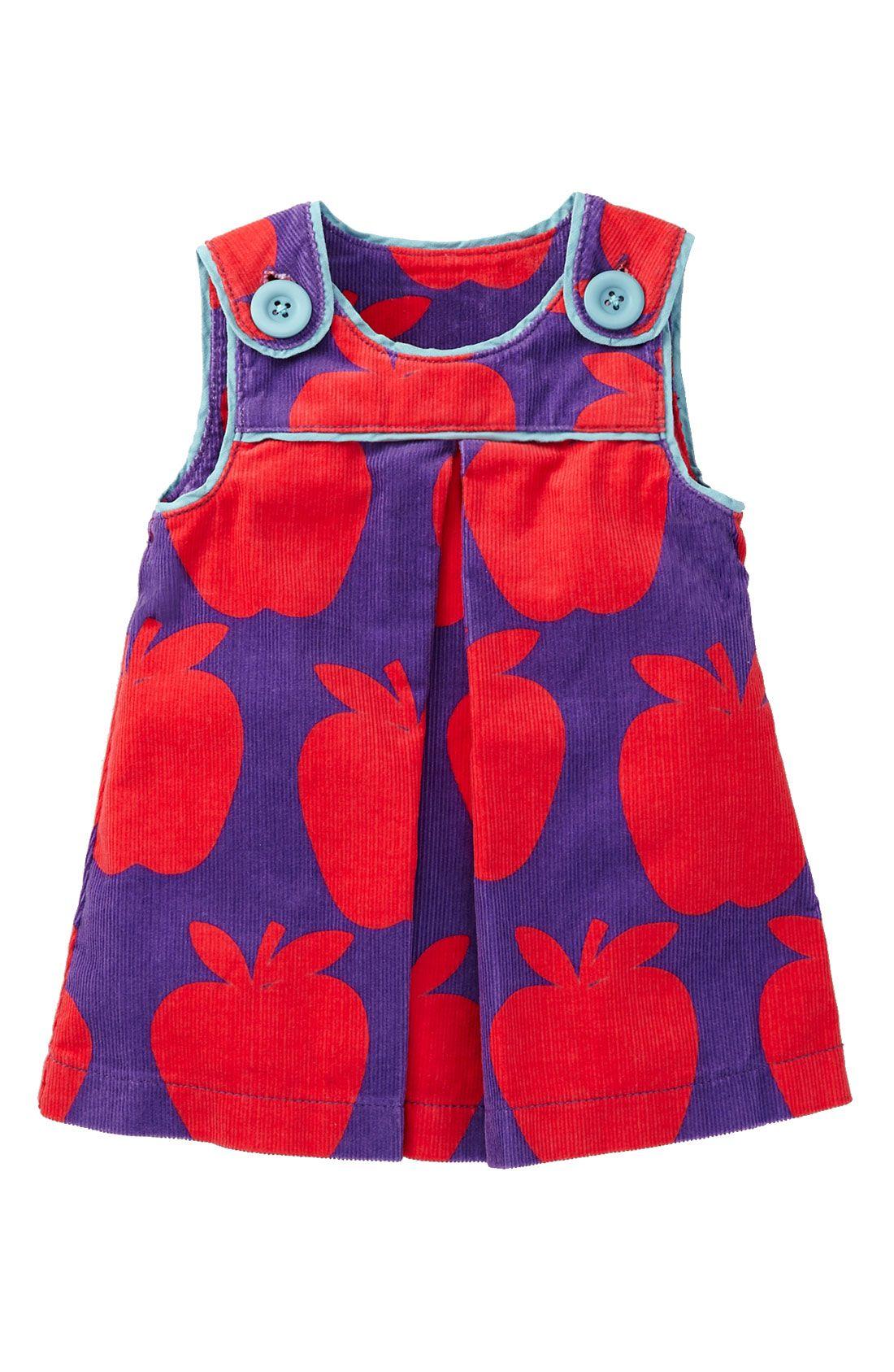 Baby Clothing – Mini Boden Print Corduroy Pinafore Dress (Infant ...