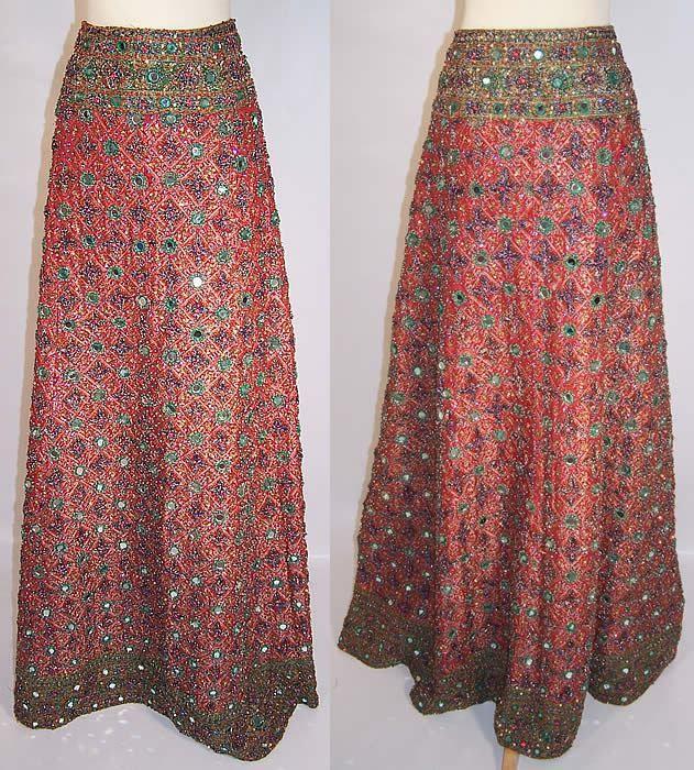 Easy to Sew Lehenga Skirt Tutorial | Style2Designer | skirts ...