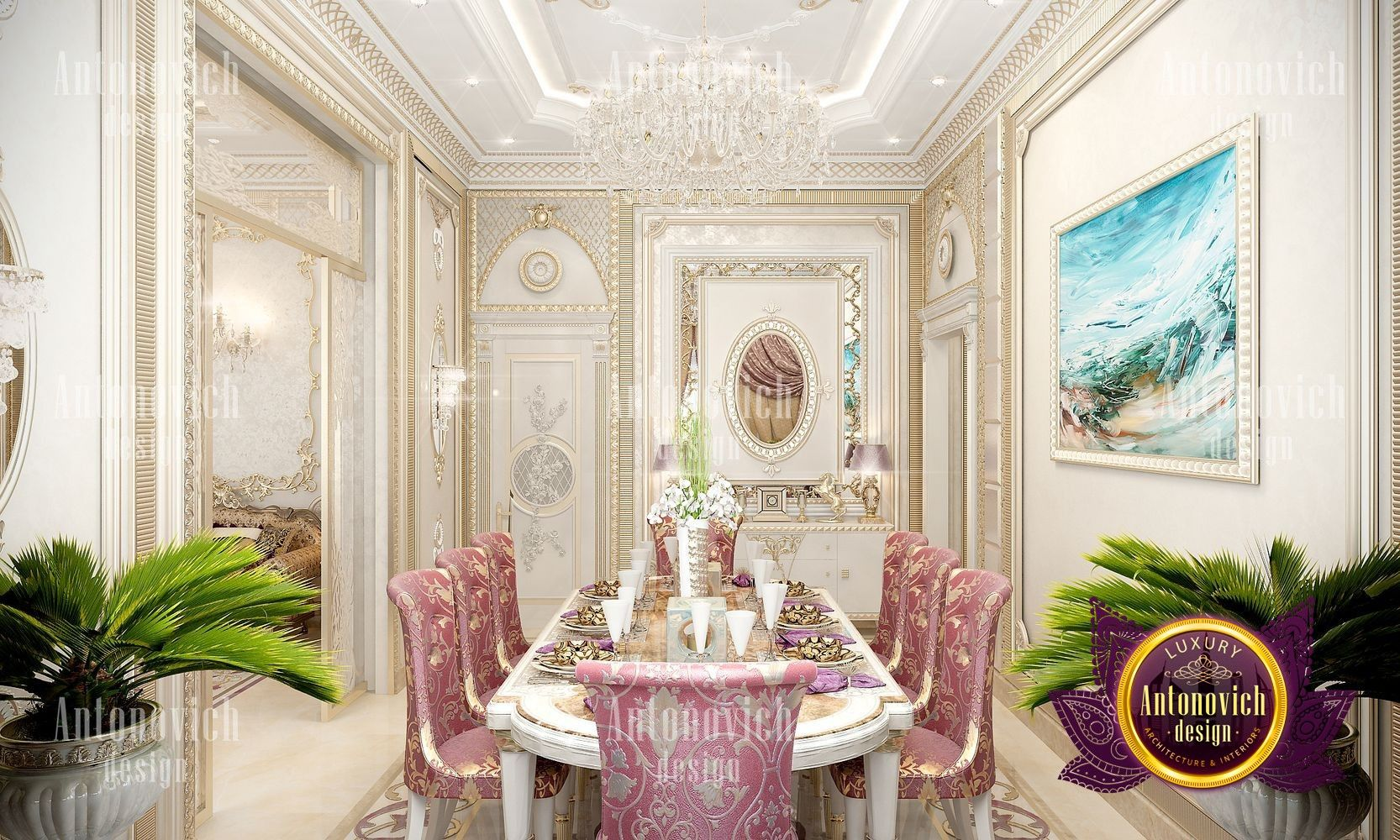 Luxury Classic Dining Room If You Are Looking For A Unique Style