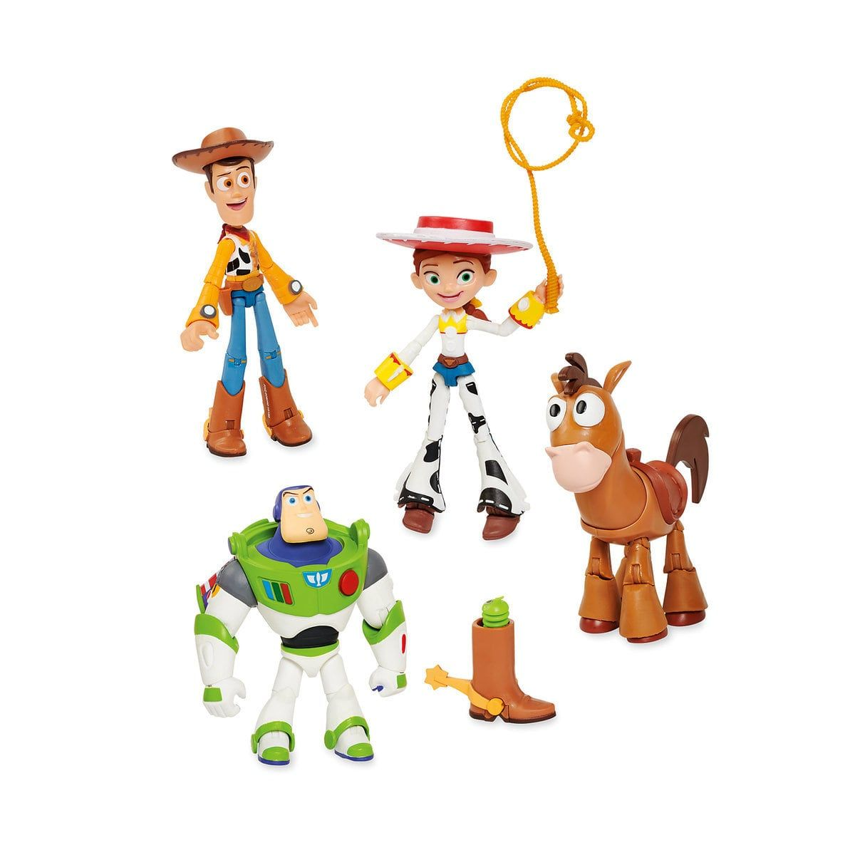 Toy Story Action Figures Pixar Toybox Action Figures Toy Story Series Drawing Cartoon Characters
