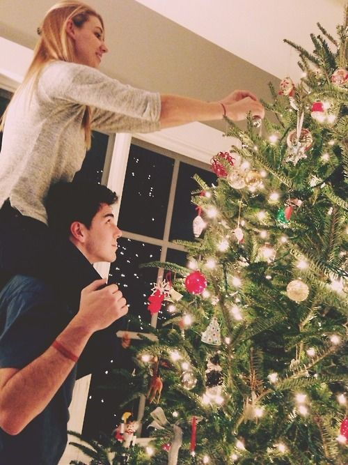 relationship goals more christmas trees christmas couple