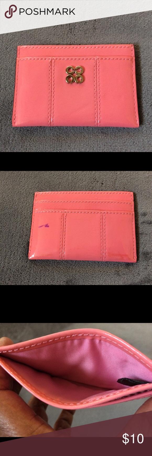Coach business card holder | Pinterest | Business card holders, Key ...