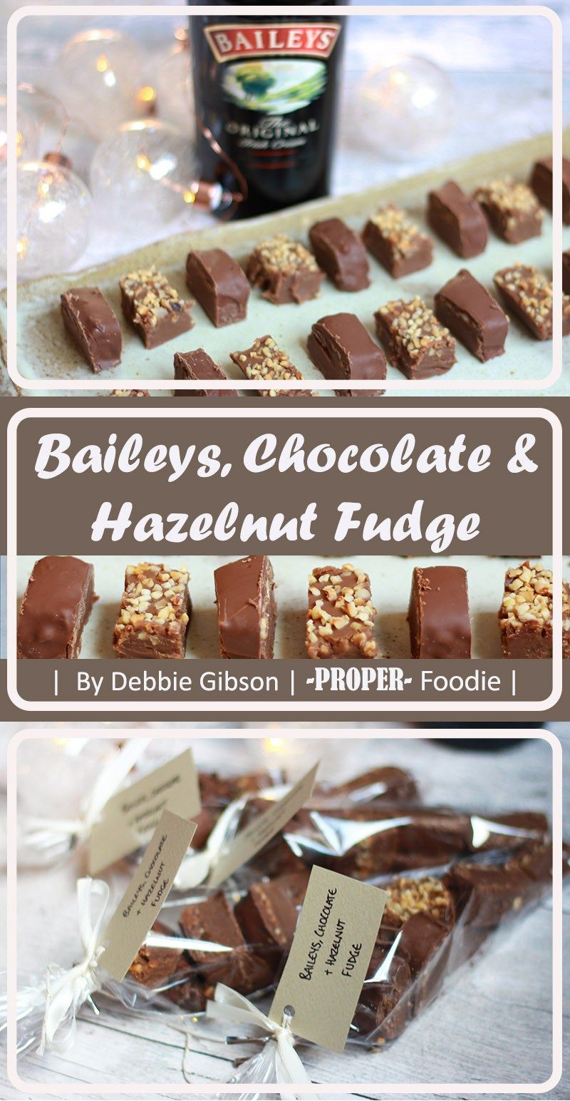 Baileys, Chocolate and Hazelnut Fudge | Recipe | Chocolate ...