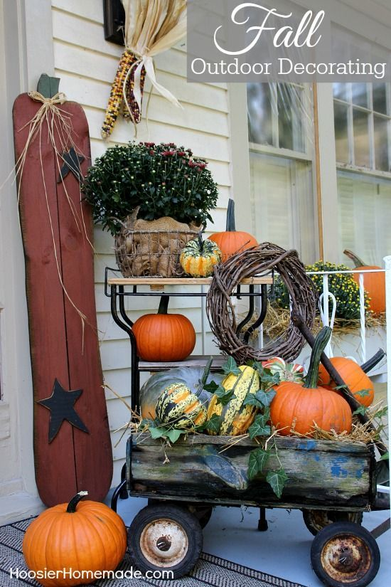 Fall Outdoor Decorating Make Your Home Inviting With Just A Few