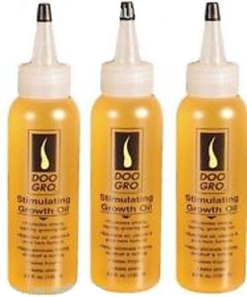 3 X Doo Gro Stimulating Growth Oil Hair Loss Relief From Psoriasis