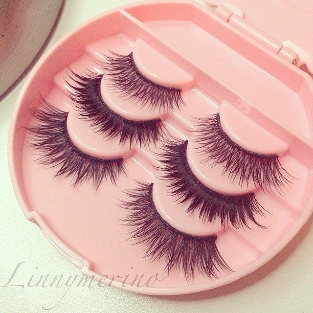 House of Lashes (T to B): Pixie Luxe,  Noir Fairy, Iconic