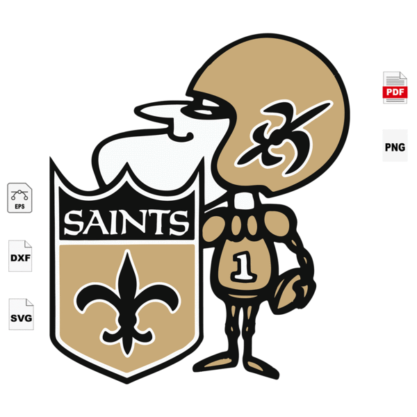 Warrior Saint Sport Svg New Orleans Saints Logo Svg New Orleans Saints Football New Orleans Saints Shirt Football Mom Football Lover Gift Nfl Saints Svg In 2021 New Orleans Saints Logo