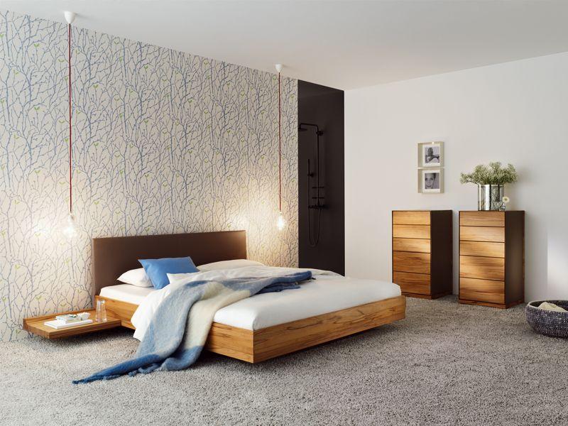Natürlich Wohnen solid wood bed riletto riletto collection by team 7 natürlich
