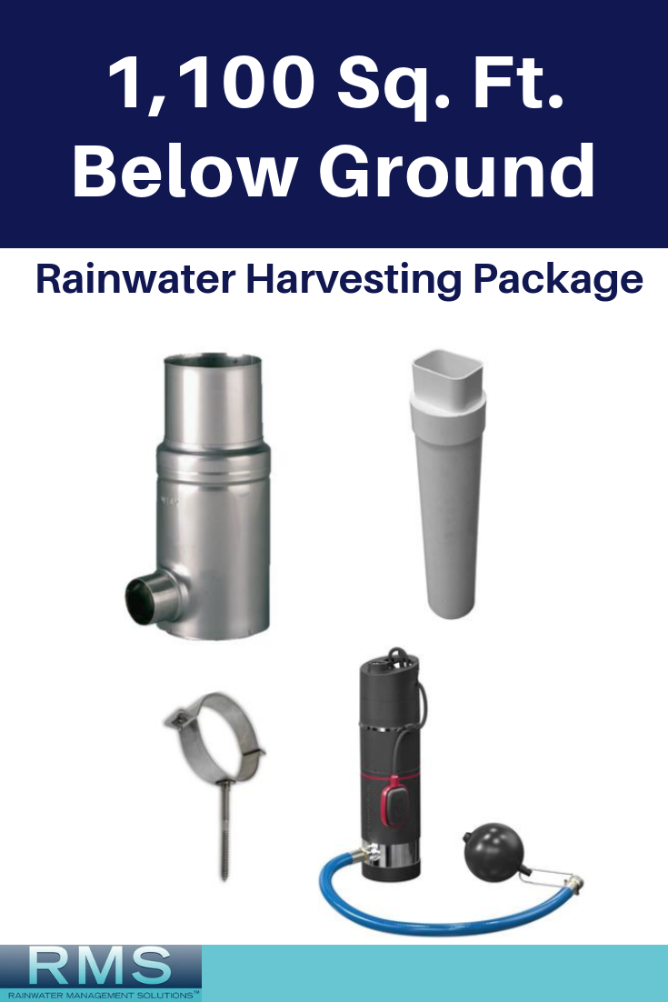 1 100 Square Foot Rainwater Harvesting Package Below Ground Rainwater Harvesting Bunk Beds Pub Set