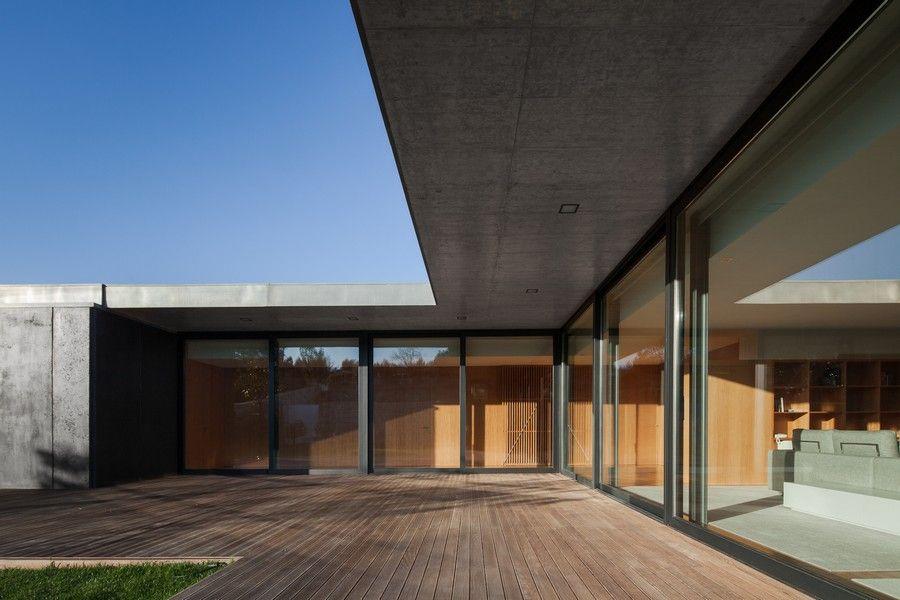 Minimalistický dom v Mosteiro – Inšpirácie montované domy
