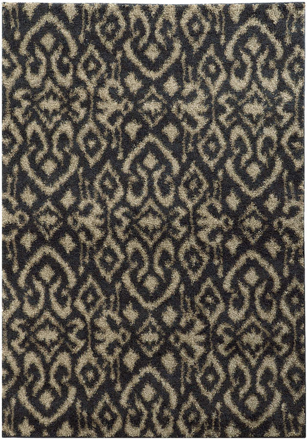 Covington Shag 505b6 Midnight Beige 7 10 X 10 10 Area Rug