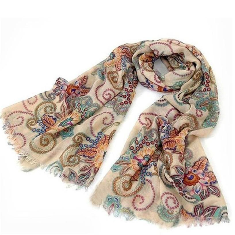Vintage Warm Knitted Ladies Scarf. #scarvesamp;shawls