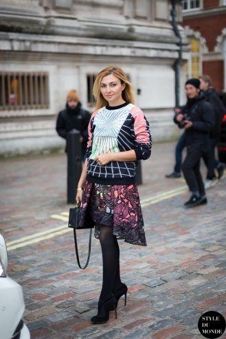 STYLE DU MONDE / London Fashion Week FW 2014 Street Style: Nasiba Adilova  // #Fashion, #FashionBlog, #FashionBlogger, #Ootd, #OutfitOfTheDay, #StreetStyle, #Style